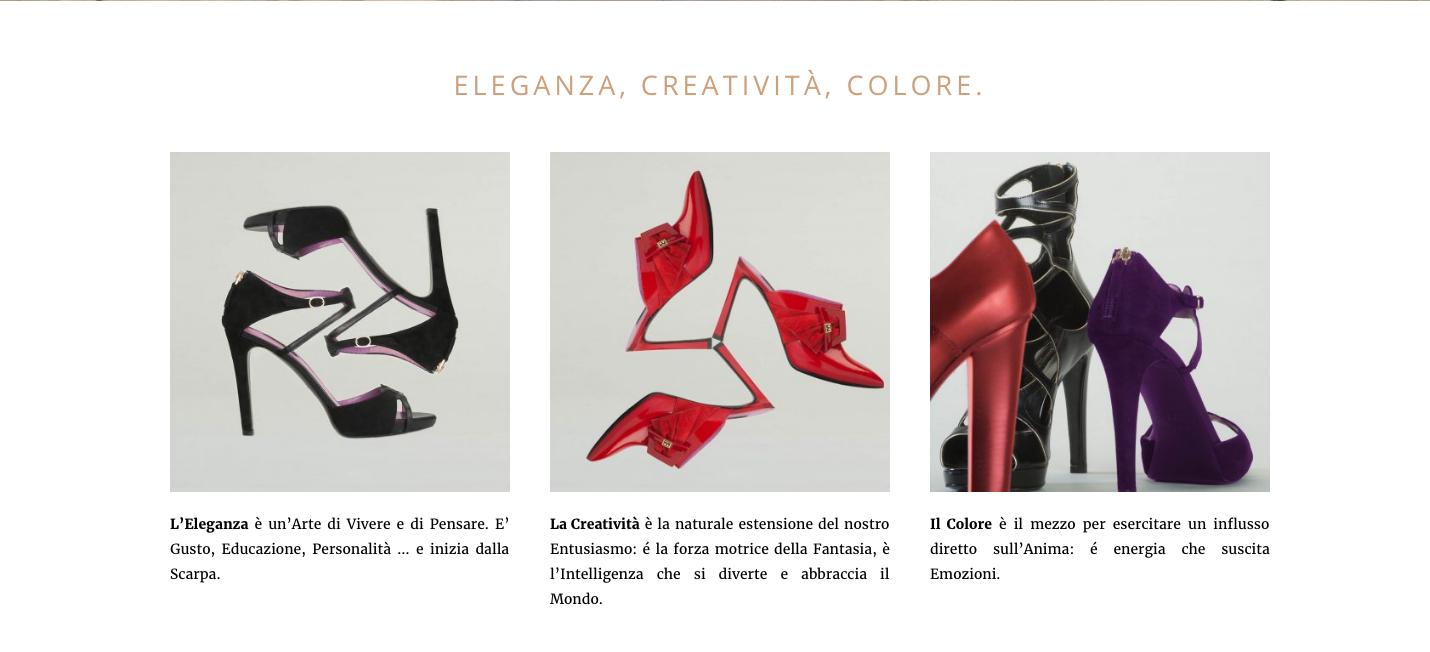 Home Page Sito realizzato per Sandro Vicari