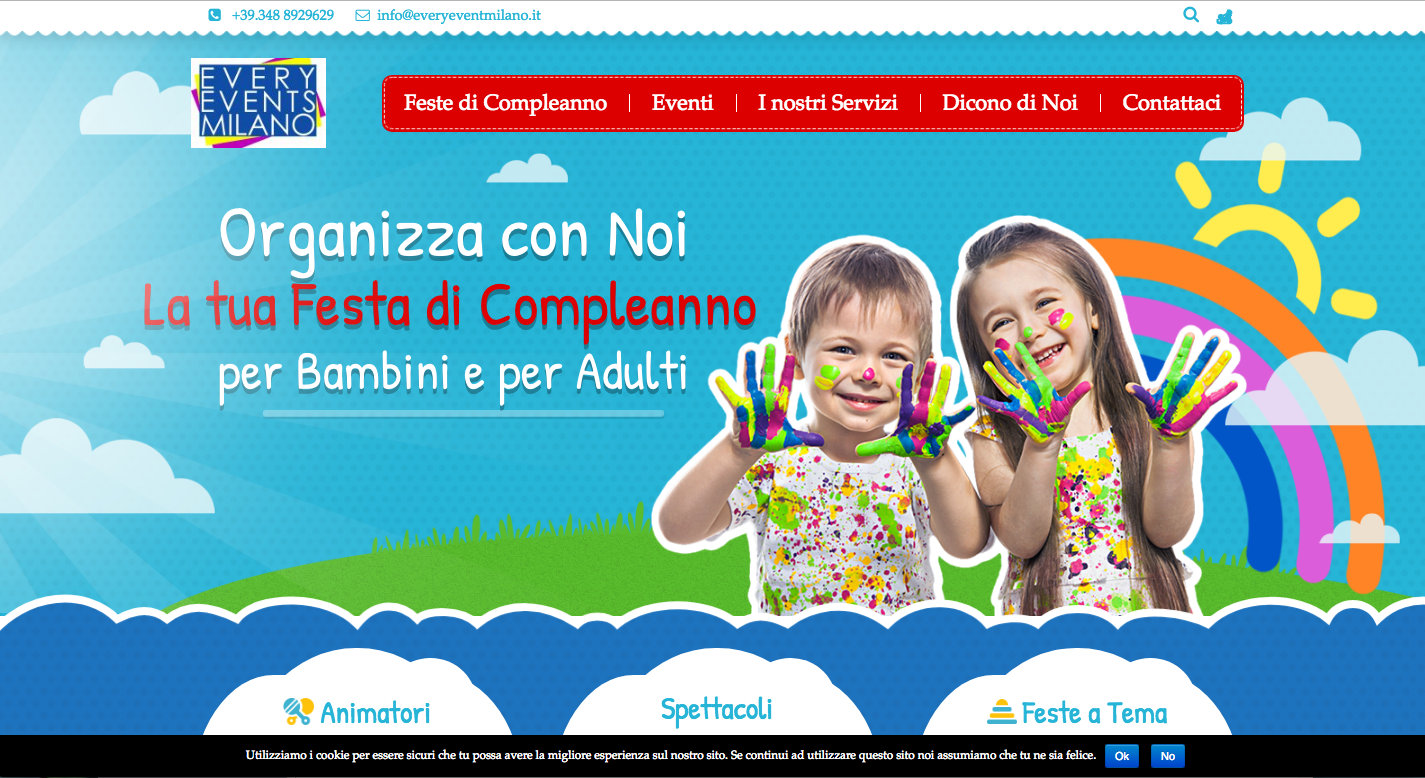 Slider Home page EveryEvent Milano