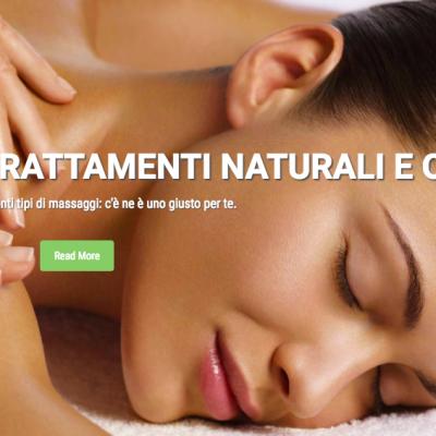 homepage di CLaudia Caci sito realizzato da Alessandro Veneziani