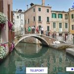 canali di venezia con teleport me